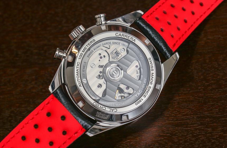 53d89439b3e6 TAG Heuer Carrera CH 80 Watch 2014 Hands-on