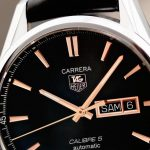 On Hands of Perfect TAG Heuer Carrera Calibre 5 Day-Date Replica Watches
